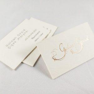 rose yaldizli kartvizit 1
