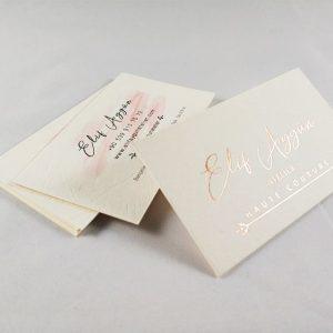 rose yaldizli kartvizit