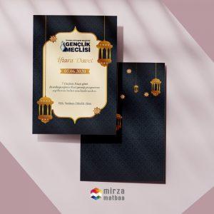 iftar davetiyesi