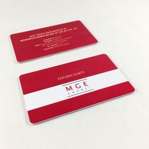 plastik fatura kartı
